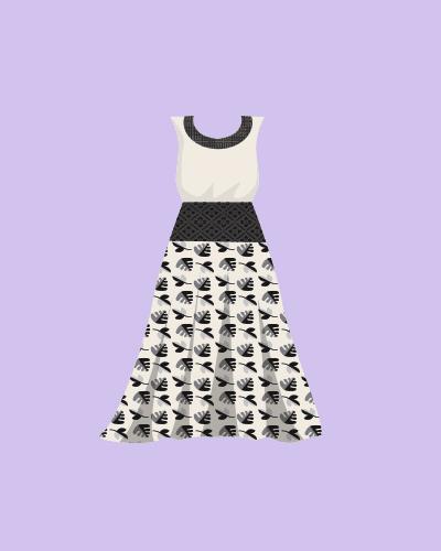 Women Chocolate Dress 1