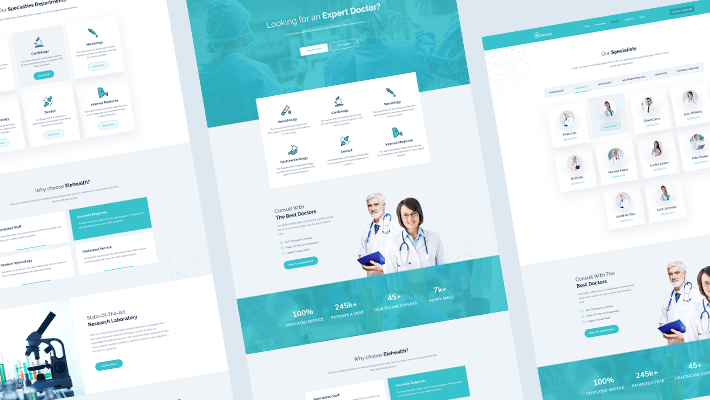 medical website EleHealth