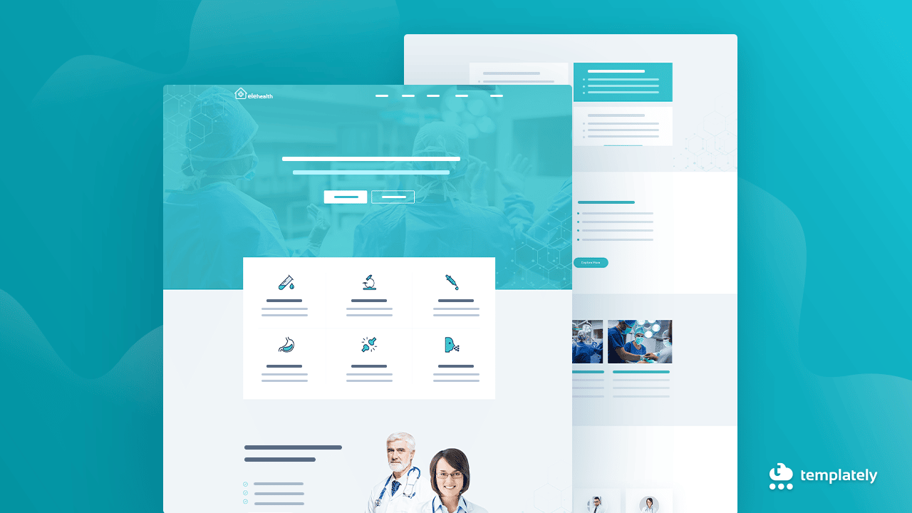 medical website in WordPress