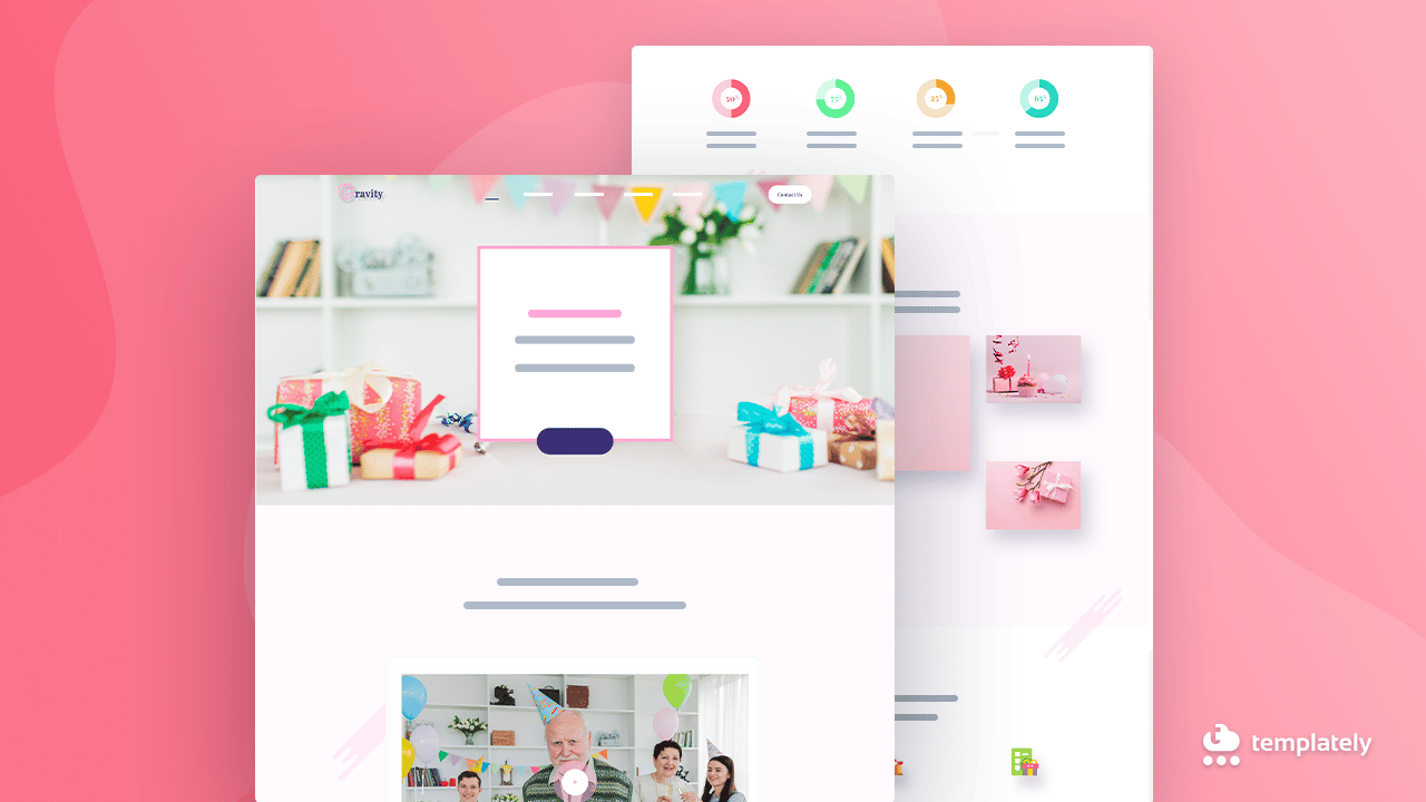 Birthday Website Template