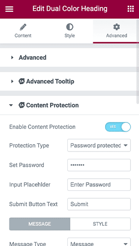 Content Protection 252