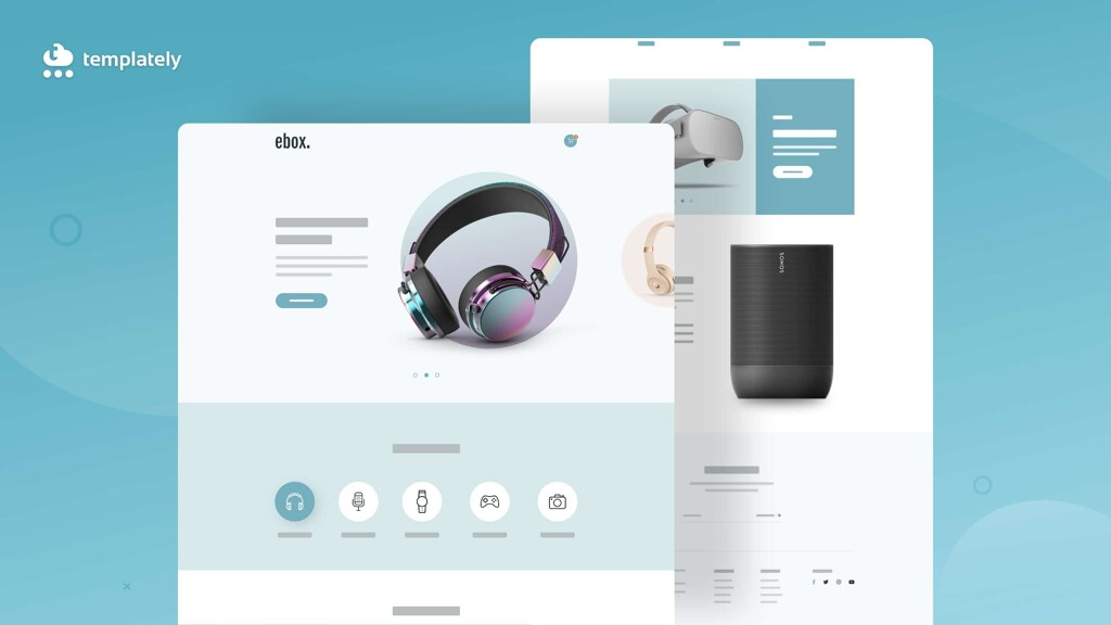 Electronic Store Website