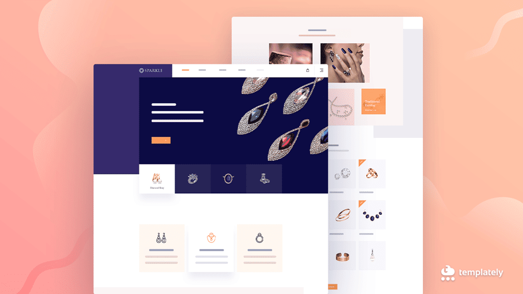 Jewelry eCommerce Website