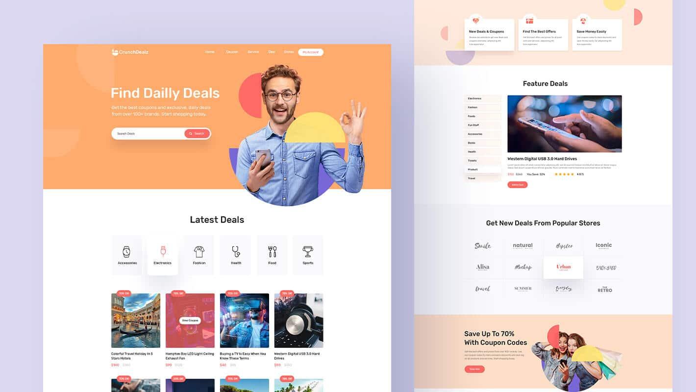 WordPress Deal Page