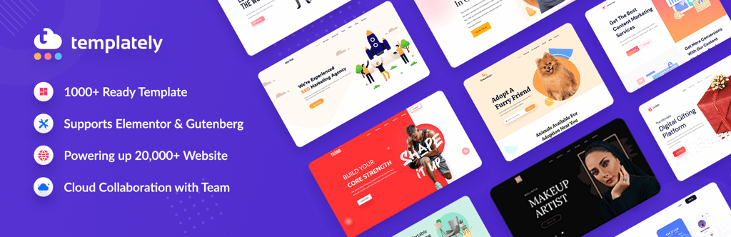 Templately Hits 20,000 Happy Users With 1000+ Ready Elementor Templates 5