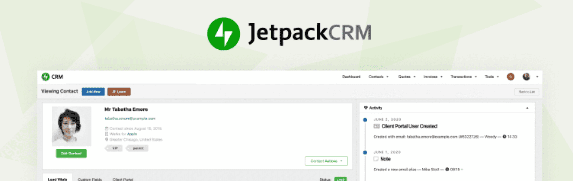 Top 5 Best WordPress CRM Plugins Compared To Fuel Up Your Business 36