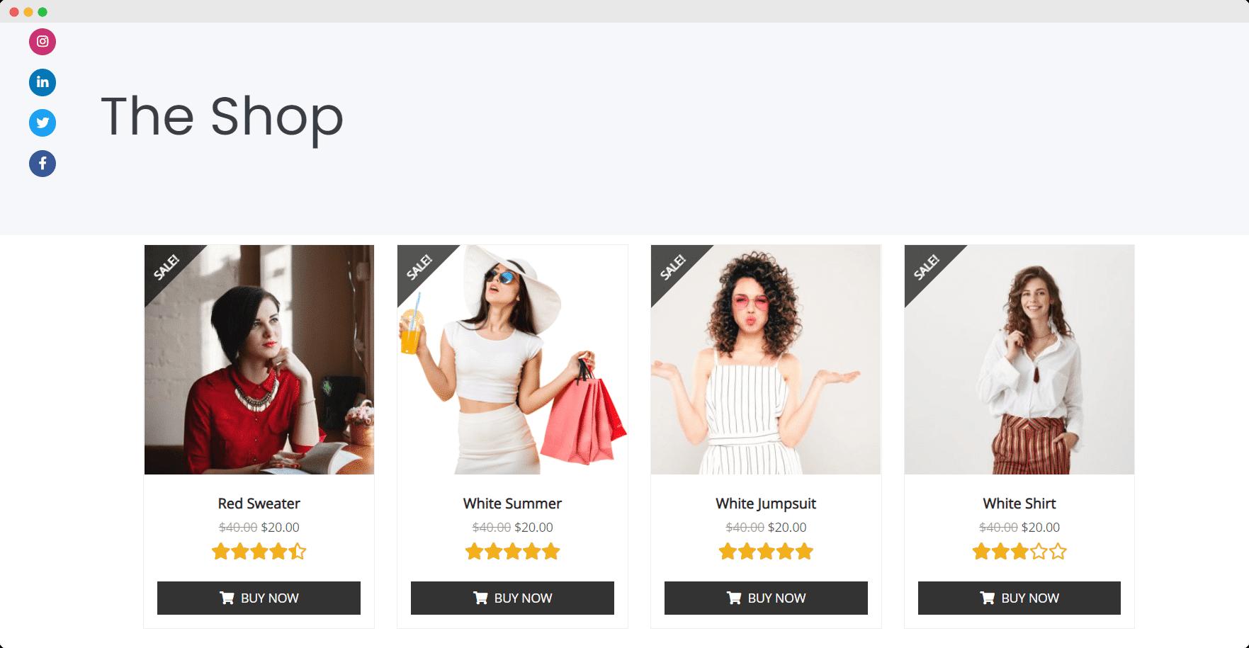 Elementor WooCommerce