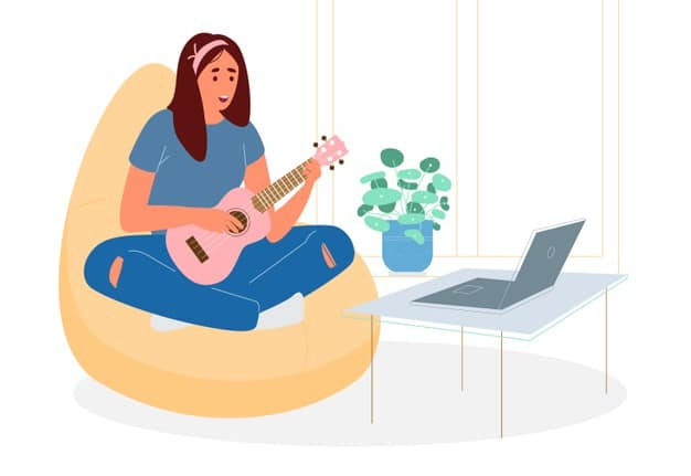 musician online portfolio