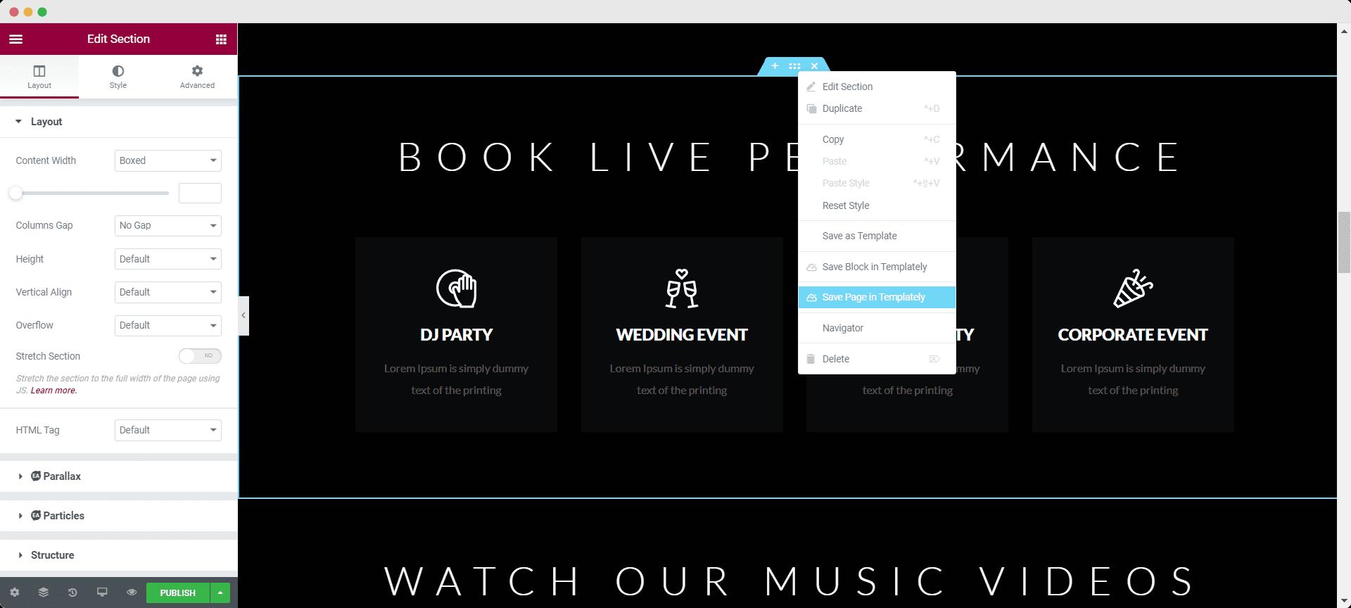 How To Create A Musician Online Portfolio Using FREE WordPress Template [No Coding] 3