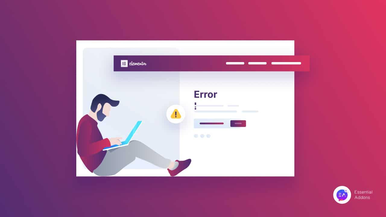 5 common Elementor Site Error