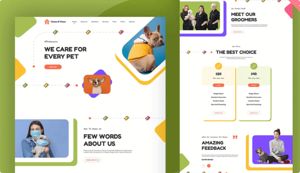 How To Create A Safari Or Zoo Website In WordPress Using Elementor Ready Template 8