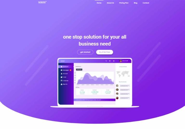 elementor business template