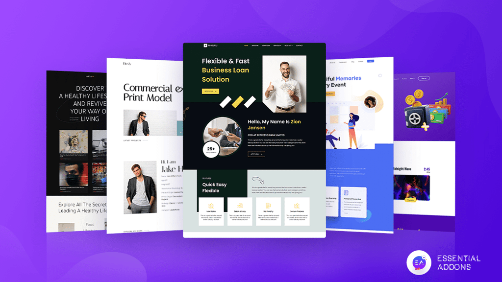 Ready Elementor Template Pack