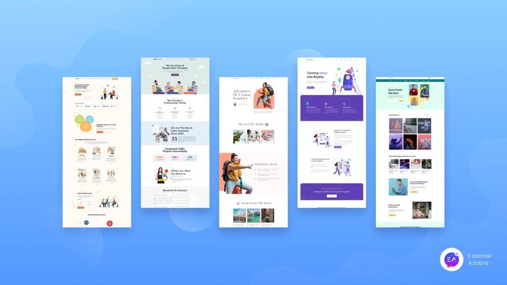 ready Elementor templates