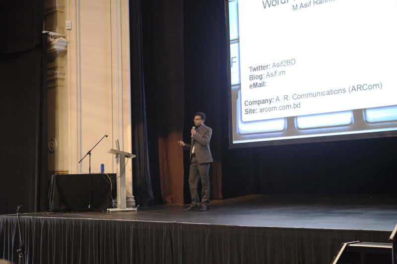 Talking AT WordCamp Melbourne 2011