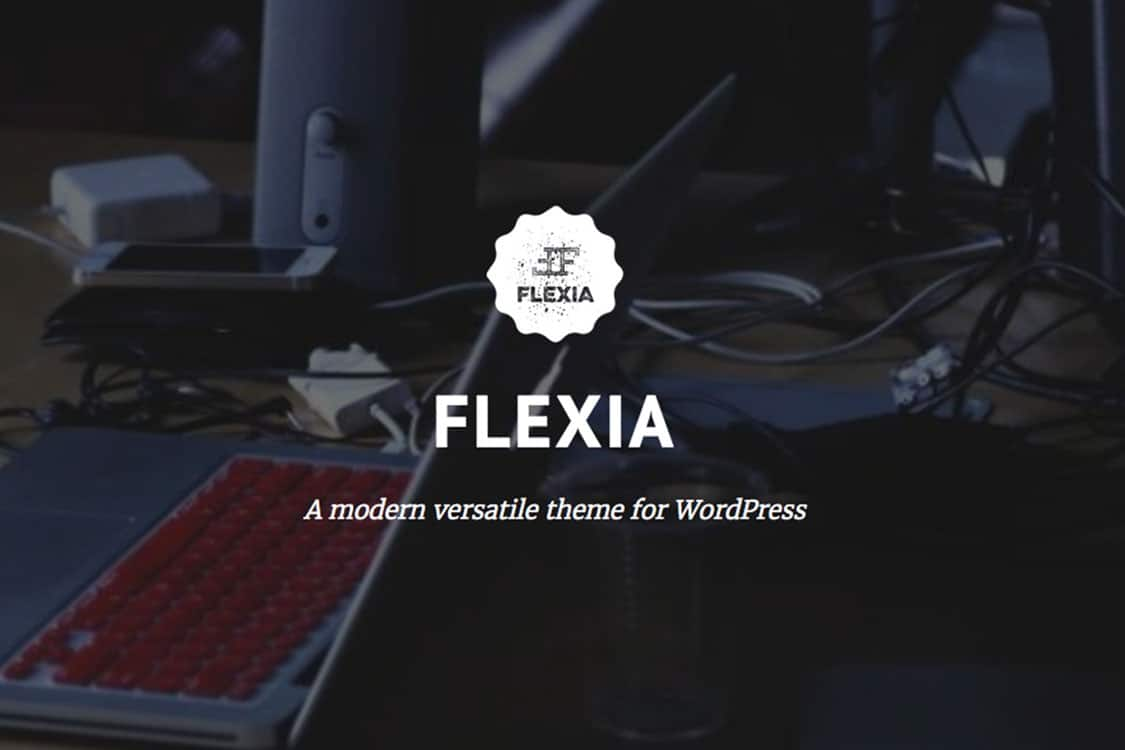 Flexia - one theme to rule 'em all 25