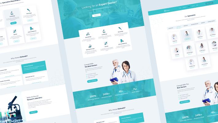 medical website EleHealth
