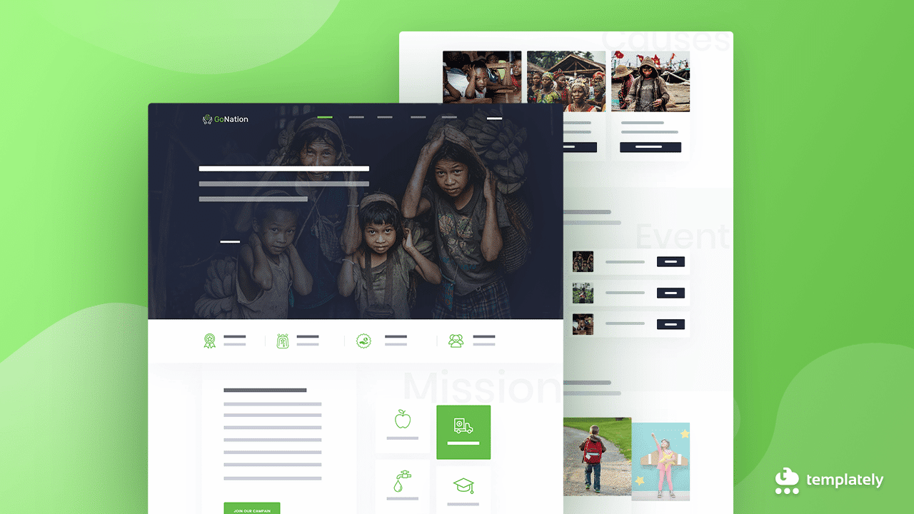 WordPress Charity Website