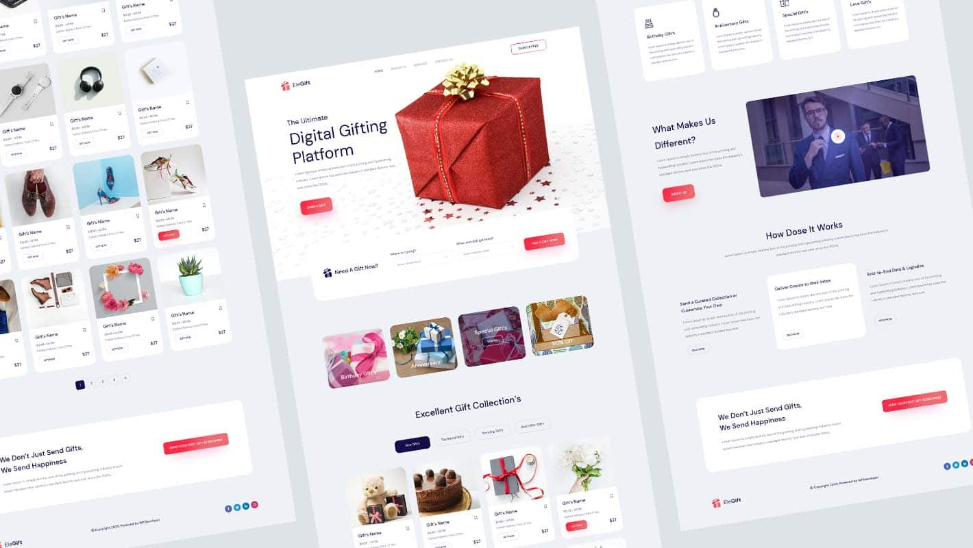 WooCommerce gift shop