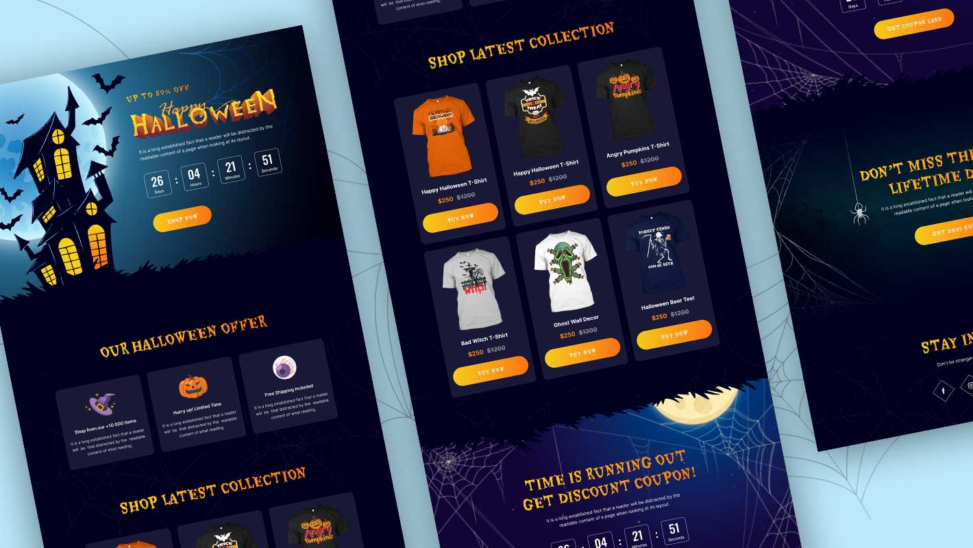 Halloween Website