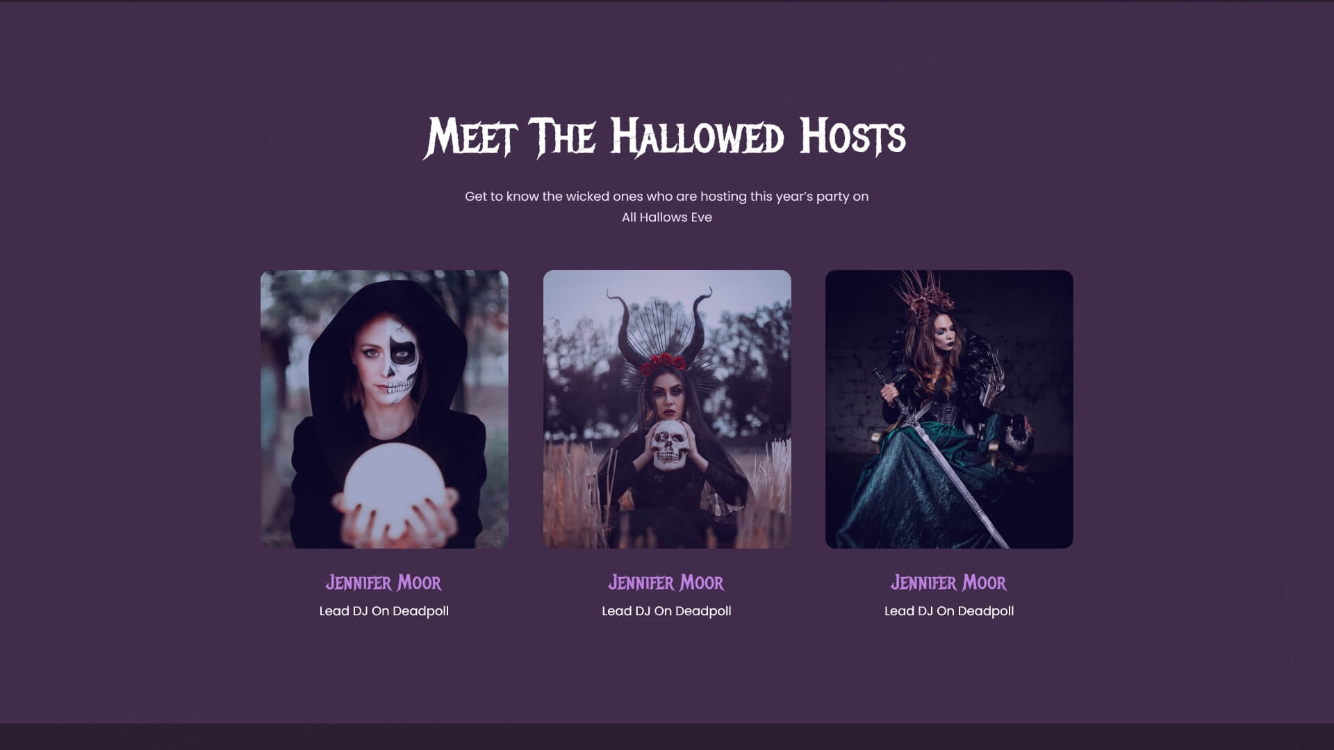 How To Create A Spooky Halloween Website With 1 Click Using Elementor Ready Template [Freebies] 2
